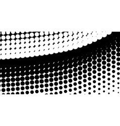 Half Tone Curve vector