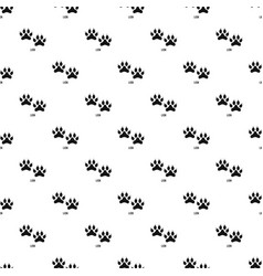 Lion step pattern seamless vector