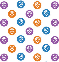 location icon background vector image