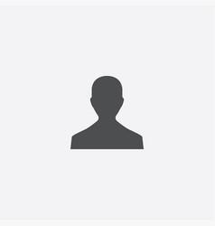 Male profile icon vector