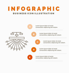 optimization site site structure web infographics vector image