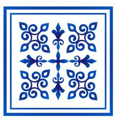 Porcelain decorative vector