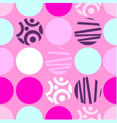seamless pattern of circles for web design or vector image