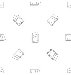 textbook pattern seamless vector image