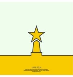 The award star winner vector