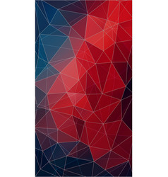 vertical abstract triangle wallpaper vector image