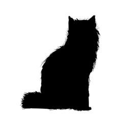 Wolf wildlife animal image is pictogram pencil vector