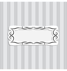 Background and Frame vector image vector image