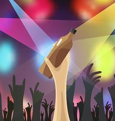 Disco night party concert vector