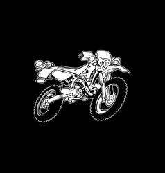 biker 31 vector image