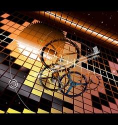 Clockwork vertigo vector