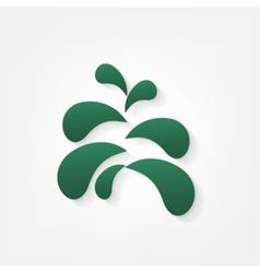Fir tree for Christmas vector image
