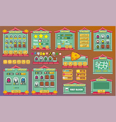 Game gui 52 vector