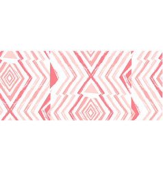 hand drawn navajo seamless patternaztec vector image