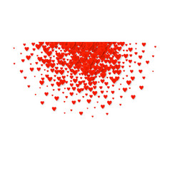 Valentines heart cart love symbol isolated on vector