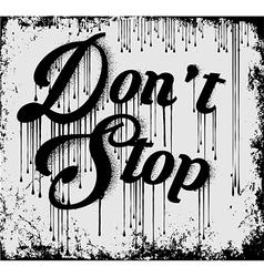 Vintage Slogan T shirt Graphic Design vector image