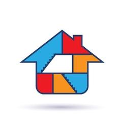 House Interior logo vector image