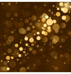 magic lights background vector image