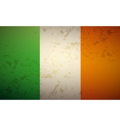 Flag Ireland vector image vector image