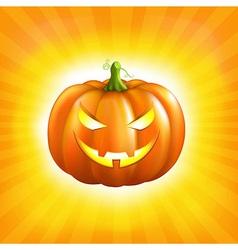 Sunburst Halloween Background vector image vector image