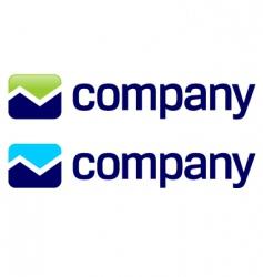 stock market arrow logo vector image vector image