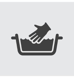 Wash icon vector image