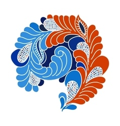 Abstract flourish design element vector