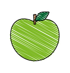 Apple icon image vector