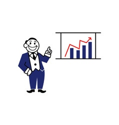 Business Clipart Presentation vector image