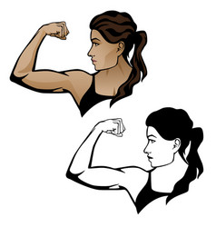 fitgirl armflex vector image