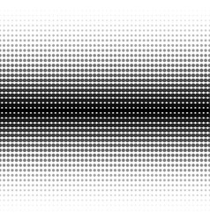 halftone dotted background - seamless vector image