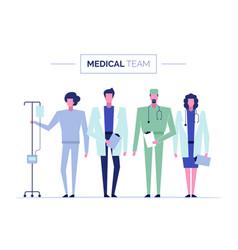 online doctor set 1 vector image