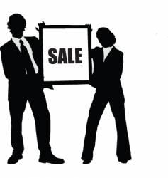 sale board vector image
