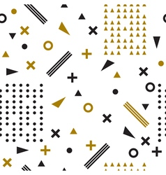 Seamless ethnic pattern Tribal hand drawn vector image