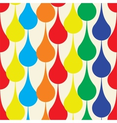 Seamless pattern with drops vector image