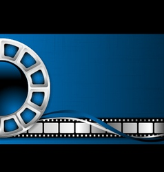 cinema theme background vector image vector image