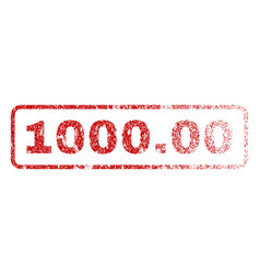 100000 rubber stamp vector image