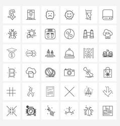 36 universal icons pixel perfect symbols of vector