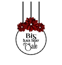 Big Black Friday Sale vector image