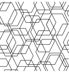 Geometrical abstract seamless pattern vector