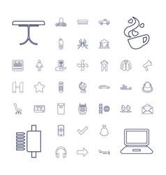 Modern icons vector