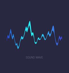 Music sound waves audio digital equalizer vector
