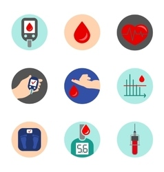 Diabetes Icon vector image