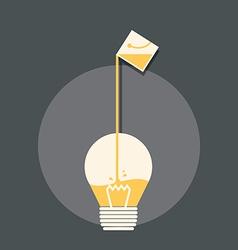 Creative design inspiration vector image