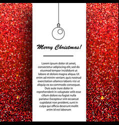 new year and christmas banner design template vector image vector image
