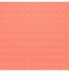 Coral background with geometric road texture vector image
