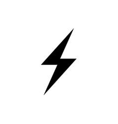 flash icon simple design eps10 vector image