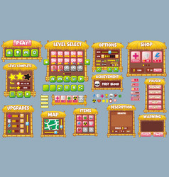 Game gui 60 vector