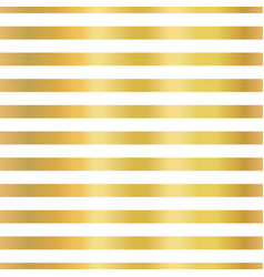 Gold foil stripes horizontal lines seamless vector