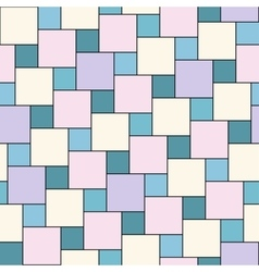 Pastel tiles seamless pattern vector